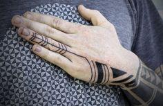 David Hale tattoos