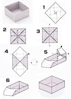 Техника оригами, кольцо оригами