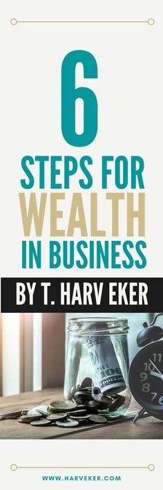 Many of us slave away for years at one uninspiring job after another and dream of the day when we can go it alone. And while jumping into starting a business may seem enticing, there's a LOT of risks involved if you aren't prepared. In this video, T. Harv Eker - New York Times Best Selling author - teaches his 6 steps to build a successful business. #business #finances #financialfreedom Sell Your Business, Successful Business, Starting Your Own Business, Business Tips, Online Business, Money Tips, Money Saving Tips, Money Hacks, Money Making Websites