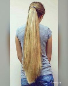 Long Ponytail Hairstyles, Long Hair Ponytail, Long Dark Hair, Very Long Hair, Cut My Hair, Big Hair, Beautiful Long Hair, Gorgeous Hair, Perfect Ponytail