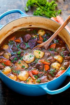 Classic lamb stew is loaded with hearty, healthy ingredients. This lamb stew recipe is simple (a one-pot meal!) and perfect for special occasions (think Easter!). Baking the stew in the oven makes the tender lamb morsels and root vegetables just melt in your mouth. Learn how to make traditional lamb stew.