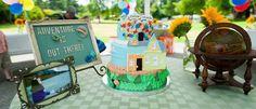 Disney's Up themed birthday party via Kara's Party Ideas KarasPartyIdeas.com Cake, decor, printables, invitation, desserts, and more! #disneysup #upparty (1)