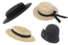 Would wear these hats and, really, any hat, cause I love hats!