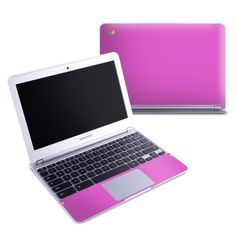 Solid State Vibrant Pink By Decal Collective Love My Chromebook