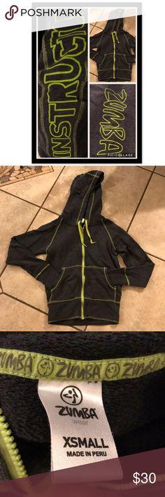 💪🏼Zumba Instructor Zip-Up Hoodie💪🏼 Zumba size Extra Small Zumba Instructor Hoodie. Worn before. In great condition 💪🏼❤️ Zumba Fitness Tops Sweatshirts & Hoodies
