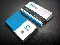 Blue Business Card @creativework247