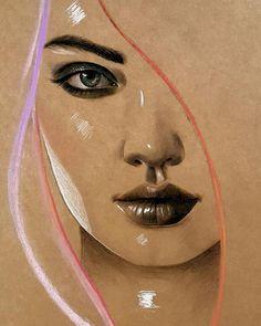 Iraklı Ressam Husam Wleed'ten 20+ Parlak ve Gerçekçi Kadın Portresi Sanatlı Bi Blog 9