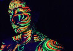 Body Paint Fluo