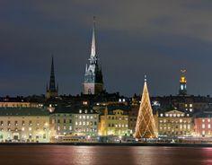 Estocolmo en época navideña.