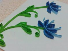 MH001 Quilling flowers