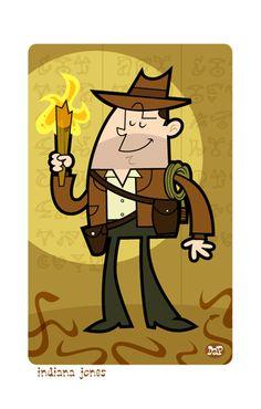 Indiana jones cartoon school design influences for Indiana jones clipart