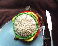 Cute Alert: Tortoise Dressed in a Burger-Shaped Cozy Tortoise Food, Tortoise Care, Baby Tortoise, Pet Turtle, Turtle Love, Turtle Suit, Turtle Burger, Turtle Sweaters, Russian Tortoise