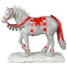 Dashing Through the Snow - Painted Ponies (retired)