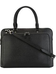 SALVATORE FERRAGAMO Classic Briefcase. #salvatoreferragamo #bags #shoulder bags #hand bags #leather
