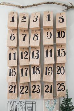 Calendario dell'Avvento: 10 idee fai da te a dir poco geniali!