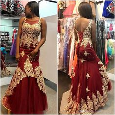 Gold Lace Appliqued Burgundy Prom Dresses,Mermaid Pageant Dresses,Fashion Prom Dress,Sexy Party Dress,Custom Made Evening Dress Mermaid Prom Dresses, Pageant Dresses, Evening Dresses, Stunning Prom Dresses, Beautiful Dresses, Burgundy Evening Dress, Long Formal Gowns, Formal Prom, Formal Dresses
