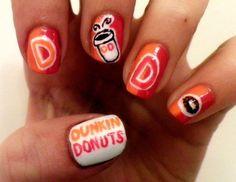 .@DunkinDonuts nails