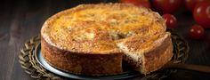 Jauheliha-tomaattipiirakka resepti ja ohje   Snellman