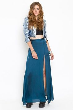 #nastygal.com             #Skirt                    #Minted #Maxi #Skirt #What's #Nasty                 Minted Maxi Skirt in What's New at Nasty Gal                                  http://www.seapai.com/product.aspx?PID=1469915