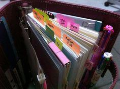 Vintage Pink Personal Malden Filofax by app1eg, via Flickr