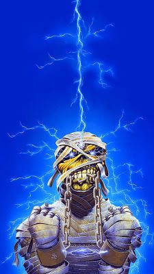 Heavy Metal Art, Heavy Metal Bands, Band Wallpapers, Live Wallpapers, Woodstock, Rock Bands, Iron Maiden Mascot, Iron Maiden Posters, Eddie The Head