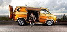 Chevy Vans, Custom Muscle Cars, Cool Vans, Custom Vans, Kustom, Van Life, Hot Rods, Trucks, Campers