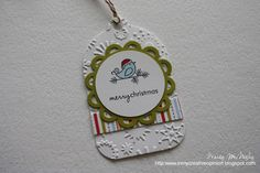 In My Creative Opinion: 25 Days of Christmas Tags 25 Days Of Christmas, Christmas Gift Tags, Christmas Ornaments, Paper Tags, Paint Chips, Lawn Fawn, Christmas Projects, Creative Crafts, Craft Fairs