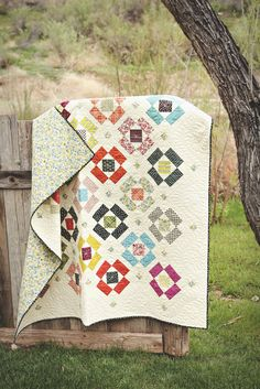 Favorite Quilts   A Quilting Life - a quilt blog Indian Summer quilt from the book Fresh Family Traditions by Sherri McConnell