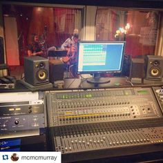 Downtown Campbell: #Repost @mcmcmurray with @repostapp.  Laying it down in the studio with @shananabread and @unrealguy #newmusic #albumtime #recordingstudio #5yearsinthemaking #songwriters #duo #laband #bayarea #harmonies #folkmusic #americana #husbandandwife by s_and_m_band