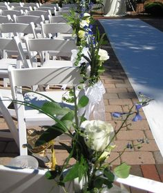 Wedding Chair and Pew Decorations