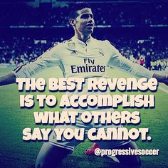Let the haters talk. It only gives you more reason succeed. What have people said you cannot do? Are you going to prove them wrong?