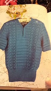 Ravelry: Bette Top With Keyhole Neckline pattern by Madeline Weston and Rita Taylor