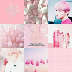 moodboard, pink, and jihoon image