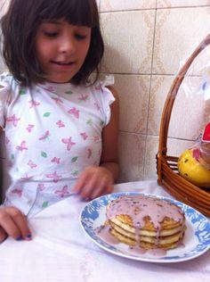 Panquecas de café da manhã