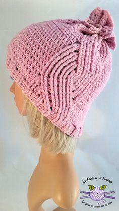 Handmade hat, croche