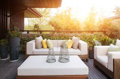 Create your patio paradise! Here's what to refresh, refinish and rebuild:
