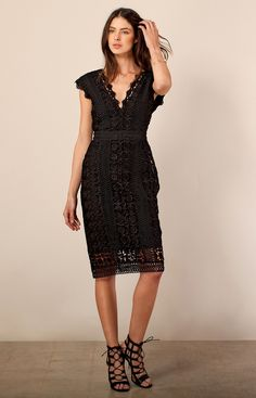 Kisa Laced Dress