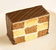 Mozaic de chec cu crema de vanilie Romanian Desserts, Romanian Food, Easy Sweets, Sweet Tarts, Confectionery, Cheesecakes, Vanilla Cake, Good Food, Food And Drink