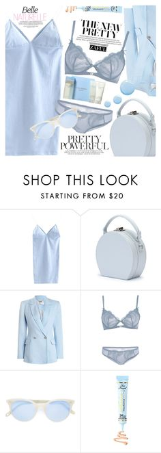 """All blue"" by vanjazivadinovic ❤ liked on Polyvore featuring Handle, Zimmermann, Garrett Leight, Topshop, Dolce&Gabbana, polyvoreeditorial and zaful"
