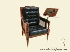 Desiree Lafuente - reading armchair