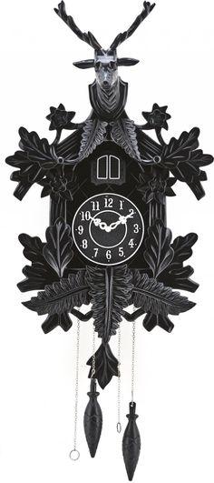 Koekoeksklok Tik Tak - Zwart - By-Boo