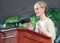 J.K. Rowling at Harvard, 2008 | 10 Graduation Speeches That Will Inspire And Move You