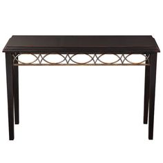 Fretwork Console Table