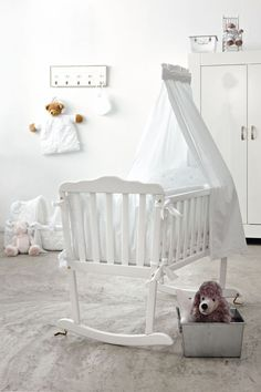 Our cradle & bedding