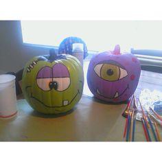 Pumpkin art...