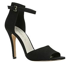 Adralian sandal in midnight black – $74.99 ALDO SHOES.  Put these shoes your www.BattleShop.co closet today!