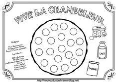 *******************  Coloriage crêpe à gommettes dessiné par nounoudunord.  Imprimer le coloriage:.acrobat.com chandeleur : Nos activités:.ici./ coloriages :.ici./Gifs:.ici. ... Preschool Crafts, Mardi Gras, Blog, Gifs, Nouvel An, Recherche Google, Lanterns, French, Carnival