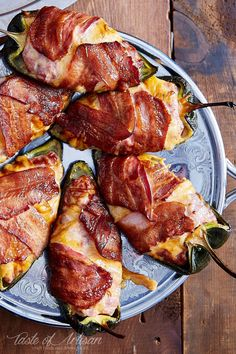 The best smoked stuffed poblano pepper recipe. The peppers are smoky, meaty, cheesy and absolutely delicious. Serve with mashed potatoes. | Taste of Artisan