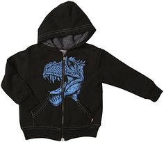 City Threads TRex Face Zip Hoodie Baby  Black69 Months * Details can be found by clicking on the image. (This is an affiliate link) #BabyBoyHoodiesandActive