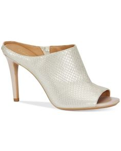 3f56d481bb85e Calvin Klein - Multicolor Women s Nola Peep-toe Sandals - Lyst Calvin Klein  Shoes